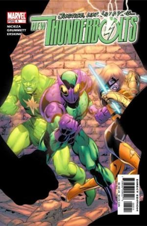 (Marvel) Cover for New Thunderbolts #5
