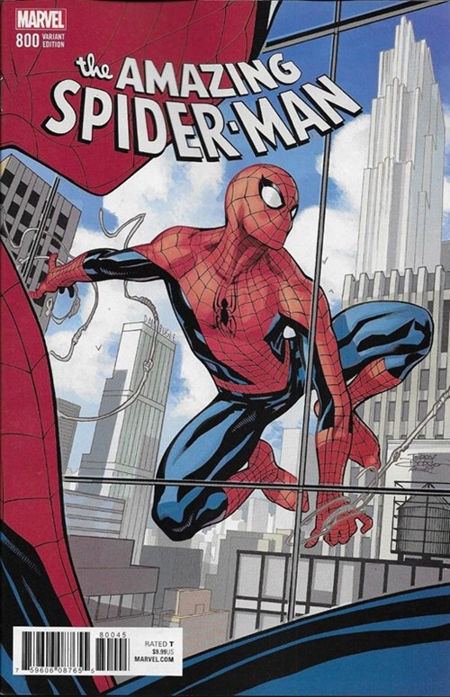 (Marvel) Cover for Amazing Spider-Man, The #800 Terry Dodson Variant Cover