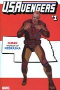 U.S.AVENGERS #1GG  Variant Cover Rod Reis Nebraska State Variant Cover