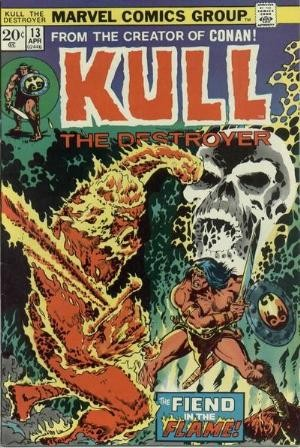 Comic Cover for Kull The Destroyer  (#13)