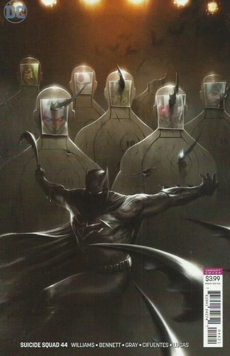 (DC) Cover for Suicide Squad #44 Francesco Mattina Variant Cover