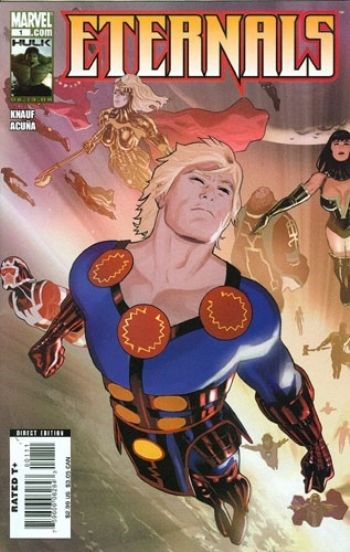 (Marvel) Cover for Eternals #1 Daniel Acuna Cover