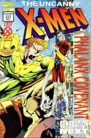 (Marvel) Cover for Uncanny X-Men #317 Prismatic Edition