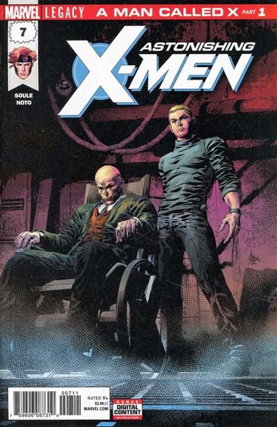 Comic Cover for Astonishing X-Men (#7)