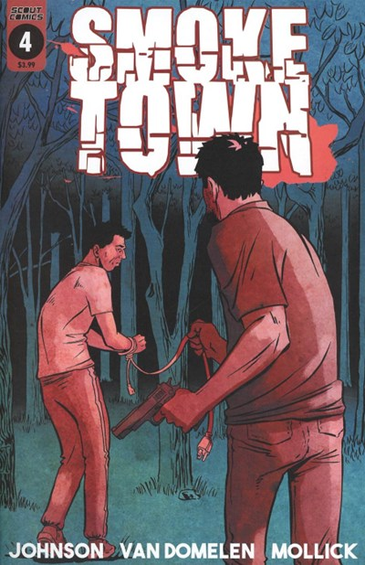 (Scout Comics) Cover for Smoketown #4