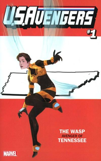 (Marvel) Cover for U.S.Avengers #1 Rod Reis Tennesse State Variant Cover