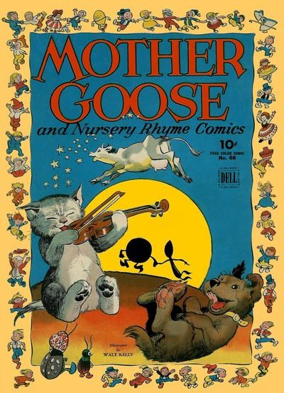 Comic Cover for Mother Goose And Nursery Rhyme Comics (Four-Color) (#68)