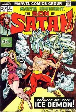 Comic Cover for Marvel Spotlight (#14)