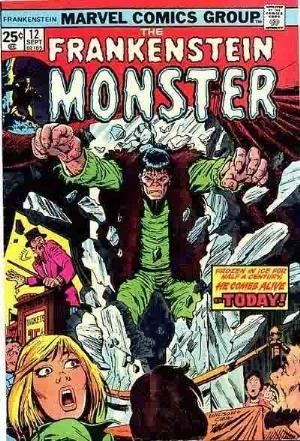 Comic Cover for Frankenstein (#12)