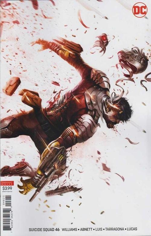 (DC) Cover for Suicide Squad #46 Francesco Mattina Variant Cover