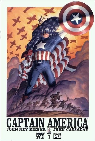 Comic Cover for Captain America (#1)