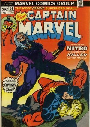 Comic Cover for Captain Marvel (#34)