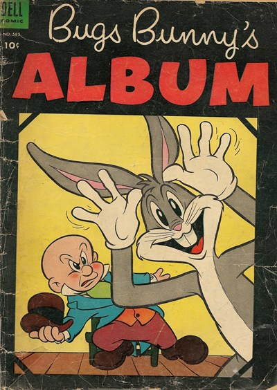 (Dell) Cover for Bugs Bunny's Album #585