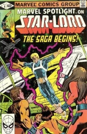 (Marvel) Cover for Marvel Spotlight #6 Origin & 1st comic book appearance of Star-Lord (Peter Jason Quill)