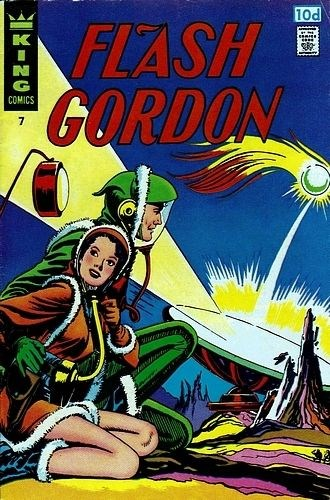 (King Features) Cover for Flash Gordon #7 Price Variant (10d)