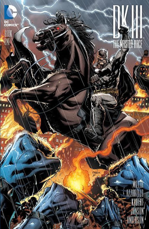 (DC) Cover for Dark Knight Iii: The Master Race #1 Yesteryear Comics Exclusive Jason Fabok Variant Cover