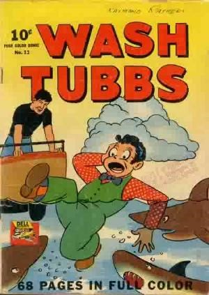 Comic Cover for Wash Tubbs (Four-Color) (#11)