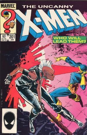 Comic Cover for Uncanny X-Men (#201)