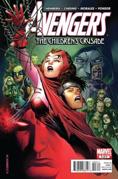(Marvel) Cover for Avengers: The Children's Crusade #3
