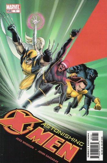 (Marvel) Cover for Astonishing X-Men #1 Variant Cassaday Cover