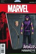 AVENGERS #3C  Variant Cover Issue 3.1 John Tyler Christopher Action Figure Variant Cover