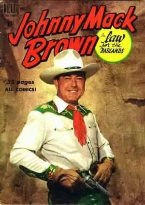 Comic Cover for Johnny Mack Brown (Four-Color) (#269)