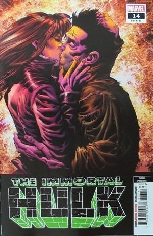 (Marvel) Cover for Immortal Hulk #14 Kyle Hotz Third Printing Variant Cover