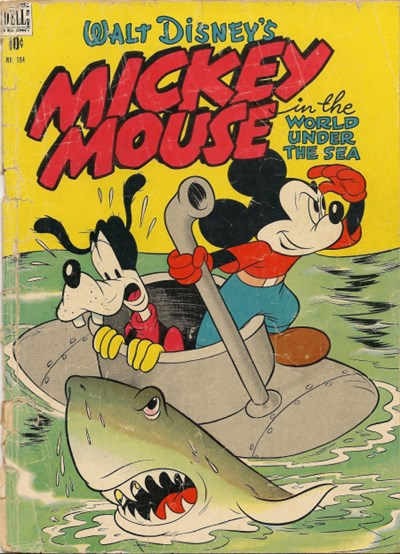 Comic Cover for Mickey Mouse (Four-Color) (#194)