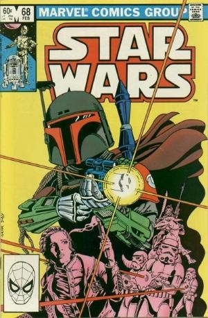 (Marvel) Cover for Star Wars #68 2nd Appearance of Boba Fett - 1st mention of Mandalorians - Direct Edition