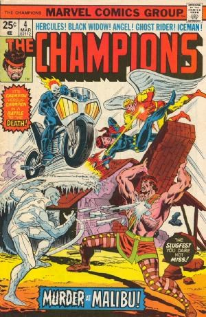 Comic Cover for Champions, The (#4)