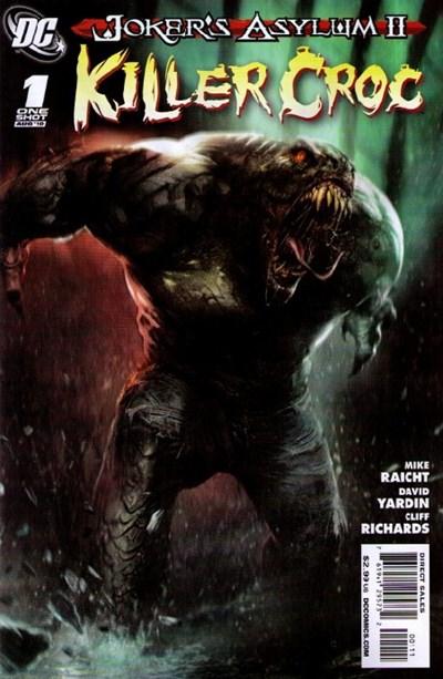 (DC) Cover for Joker's Asylum Ii: Killer Croc #1