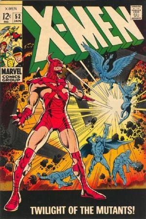 Comic Cover for Uncanny X-Men (#52)