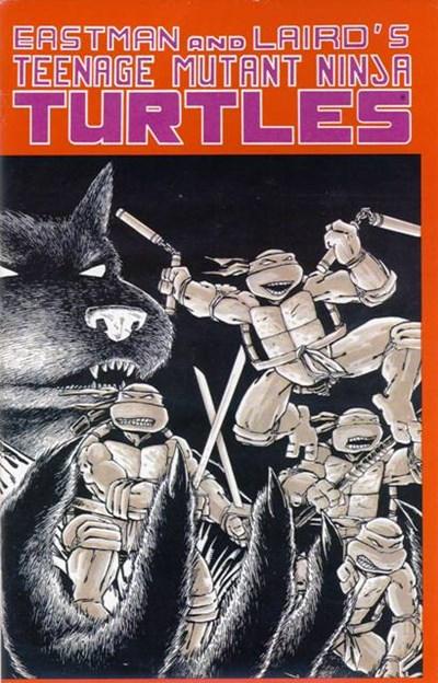 (Mirage Studios) Cover for Teenage Mutant Ninja Turtles #1 5th Print