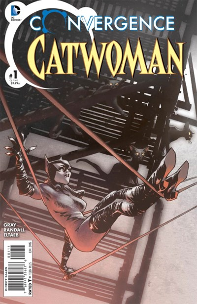 Comic Cover for Convergence Catwoman (#1)