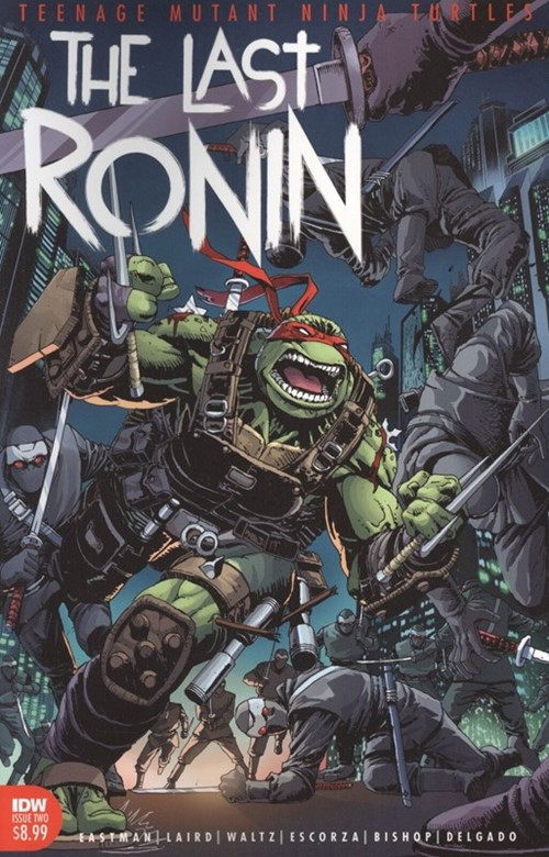 (IDW) Cover for Tmnt: The Last Ronin #2