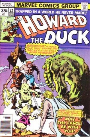 (Marvel) Cover for Howard The Duck #22