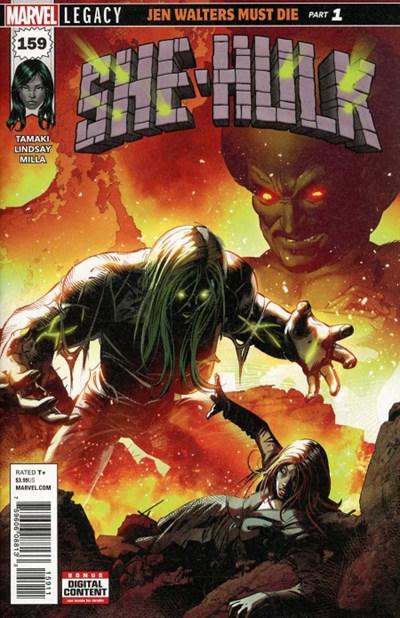 Comic Cover for She-Hulk (#159)