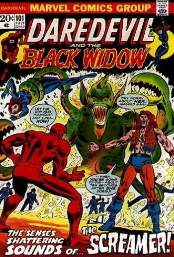 Comic Cover for Daredevil (#101)