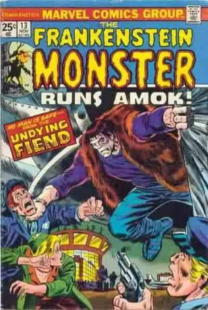 Comic Cover for Frankenstein (#13)