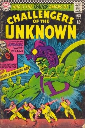 (DC) Cover for Challengers Of The Unknown #53