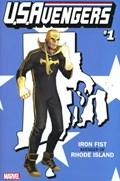 U.S.AVENGERS #1TT  Variant Cover Rod Reis Rhode Island State Variant Cover