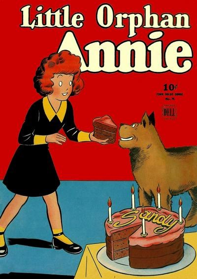 Comic Cover for Little Orphan Annie (Four-Color) (#76)