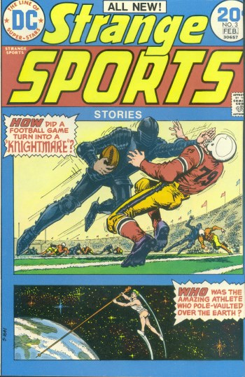 Comic Cover for Strange Sports Stories (#3)