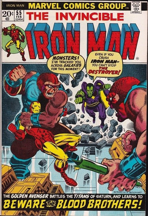 Comic Cover for Iron Man (#55)