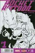 ROCKET RACCOON #1-4th Print