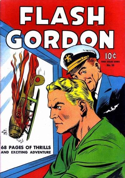 Comic Cover for Flash Gordon (Four-Color) (#10)