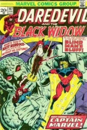Comic Cover for Daredevil (#107)