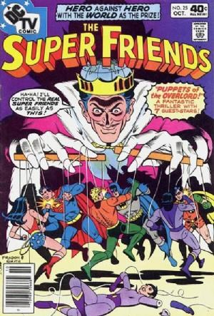 (DC) Cover for Super Friends #25
