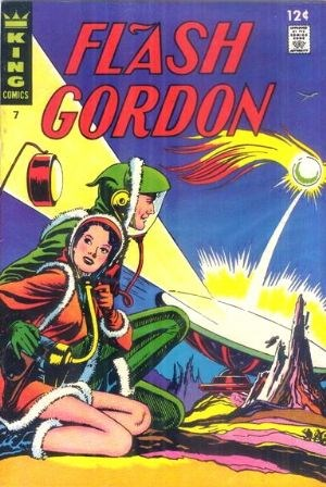 (King Features) Cover for Flash Gordon #7
