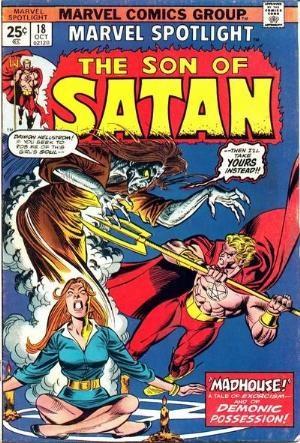Comic Cover for Marvel Spotlight (#18)